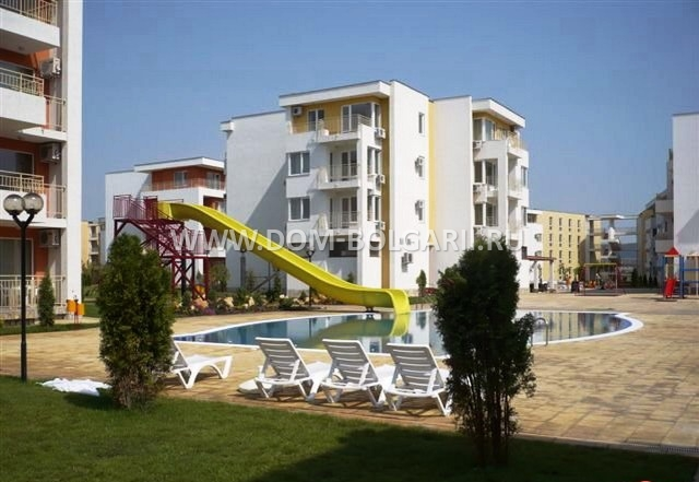 New Lower Price One Bedroom Apartment For Sale In Sunny Beach Nessebar Fort Noks Bulgarian Properties For Sale And Rent